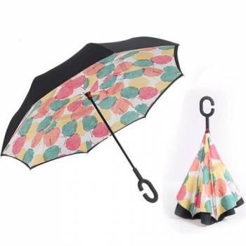 Зонт обратный Up-brella (листья осенние)