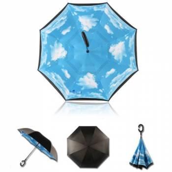 Зонт наоборот Up-brella (облака)
