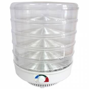 Сушилка для фруктов, овощей и грибов Ветерок (5 поддонов) прозрачная