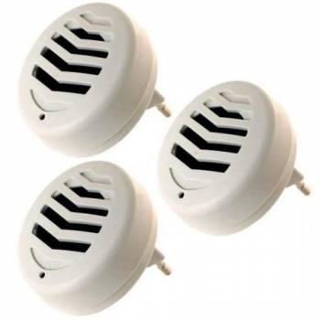Комплект Weitech WK-3523 из 3 ультразвуковых отпугивателей грызунов и насекомых