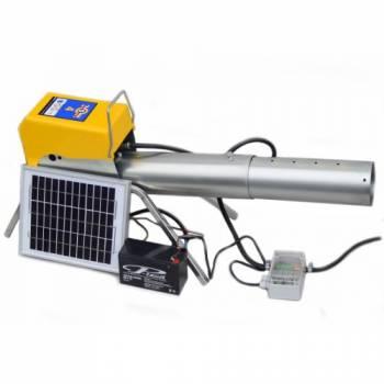 Отпугиватель птиц гром-пушка Zon Mark Solar с солнечной панелью