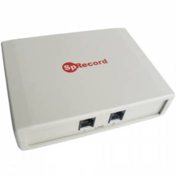 Система регистрации и записи переговоров SpRecord A2 по двум аналоговым телефонным линиям