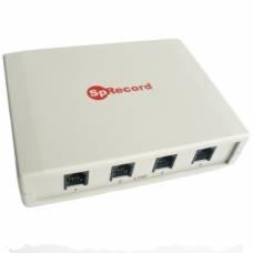 Система многоканальной записи SpRecord A4