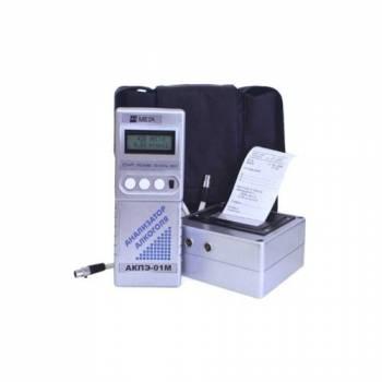 Профессиональный цифровой алкотестер АКПЭ-01М-01 Мета с портативным принтером