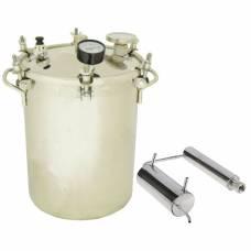 Бытовой автоклав + самогонный аппарат Консерватор 2 в 1 Классик 14 л. для домашнего консервирования (домашний погребок)