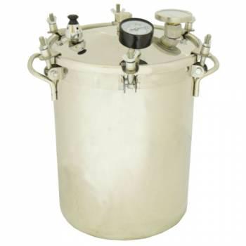 Бытовой автоклав-стерилизатор Консерватор на 14 л для домашнего консервирования (домашний погребок)