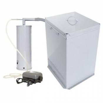 Бытовая коптильня УЗБИ Дым Дымыч 01М холодного копчения с емкостью для копчения 32 л