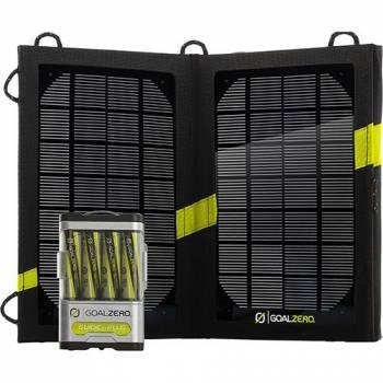 Универсальное зарядное устройство на солнечных батареях Goal Zero Guide 10 Plus Solar Kit