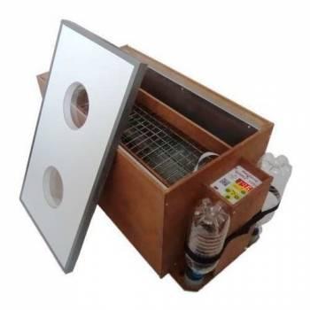 Инкубатор для яиц БЛИЦ-120, цифровой, автоматический переворот, 220В/12В (120 яиц)