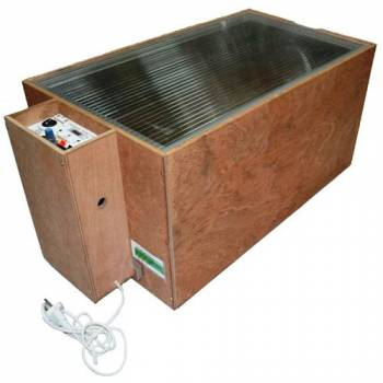Инкубатор для яиц БЛИЦ-72, автоматический переворот, 220В/12В (72 яйца)