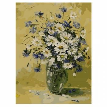 Картина по номерам Букет романтики размер 30x40 (арт. ME1024)
