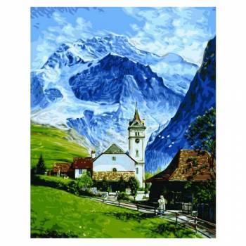 Картина по номерам Гриндельвальд размер 40x50 (арт. GX9861)