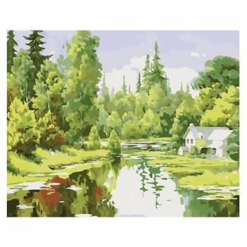 Картина по номерам Лесная идиллия размер 40x50 (арт. MG6018)