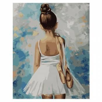 Картина по номерам Маленькая балерина размер 40x50 (арт. MG2054)