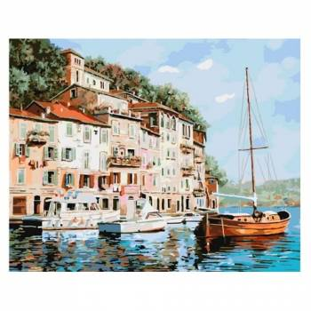 Картина по номерам Манящая Италия размер 40x50 (арт. GX8204)