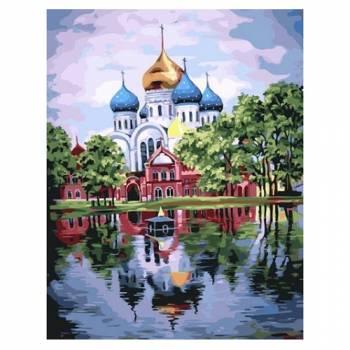 Картина по номерам Николо-Угрешский монастырь размер 40x50 (арт. GX22071)