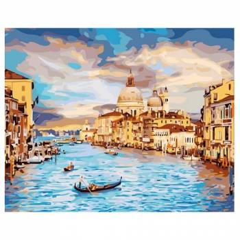 Картина по номерам Очарование Венеции размер 40x50 (арт. GX22296)