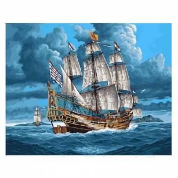 Картина по номерам Парусник в открытом море размер 40x50 (арт. GX3602)