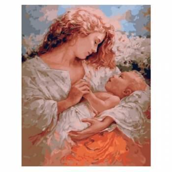 Картина по номерам Радость материнства размер 40x50 (арт. GX5743)
