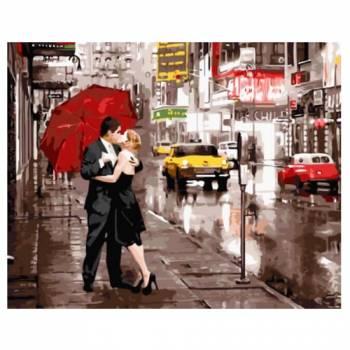 Картина по номерам Вдвоем в Нью-Йорке размер 40x50 (арт. GX5003)