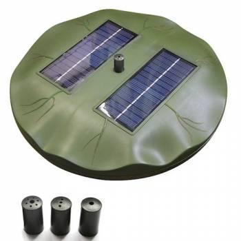 Плавающий фонтан Ocean 1,8 с 2-мя солнечными батареями