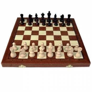 Шахматы Олимпик тонированные, деревянные