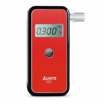 Персональный цифровой алкометр Динго Е-010 с электрохимическим датчиком (максимальная комплектация)