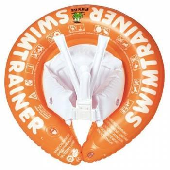 Детский надувной круг SwimTrainer оранжевый