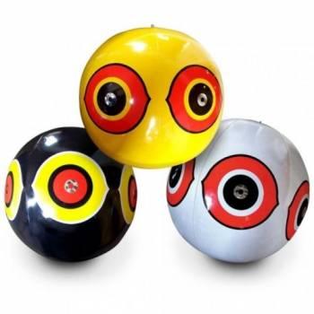 Отпугиватель птиц - виниловые шары с глазами хищника Scare-Eye, 3 шт.