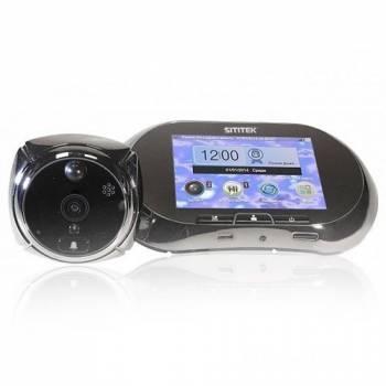 Беспроводной видеоглазок SITITEK GSM с монитором 3,5, записью и датчиком движения