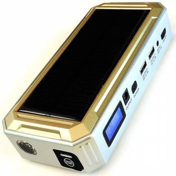 Универсальное пуско-зарядное устройство SolarStarter 18000Mah на солнечных батареях