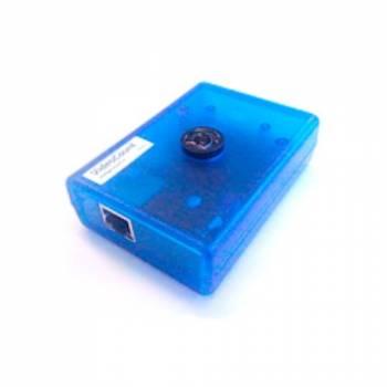 Видеосчетчик посетителей VideoCount с аналитикой и передачей через интернет (голубой)