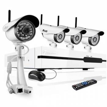 Комплект видеонаблюдения Zmodo Wi-Fi