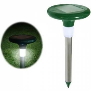 Ультразвуковой отпугиватель кротов SITITEK Гром Профи LED+ на солнечных батареях