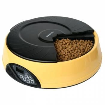 Автоматическая кормушка для кошек и собак Feed-Ex PF2 Yellow