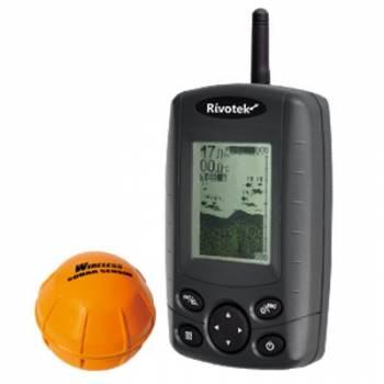 Беспроводной однолучевой эхолот Rivotek Fisher 30 Wireless Sonar с подсветкой датчика (снят с продаж)