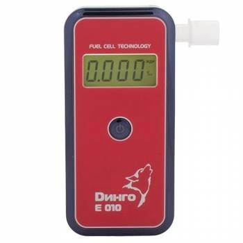 Алкотестер Динго Е010 в упрощенной комплектации (с USB, но без кабеля)