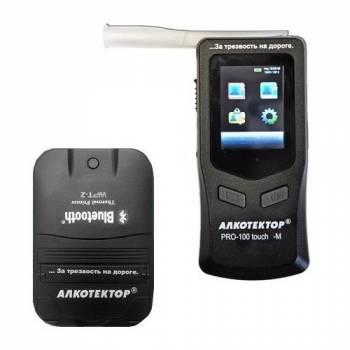 Профессиональный алкотестер Алкотектор PRO-100 touch-M с беспроводным принтером