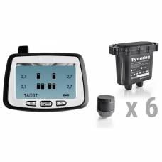 Датчики давления в шинах грузового автомобиля TPMS CRX-1012/W6 (комплект 6 внешних датчиков)