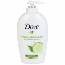 """Жидкое крем-мыло Dove """"Прикосновение свежести"""", 250 мл"""