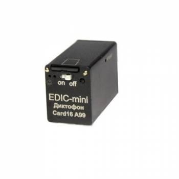 Диктофон цифровой Edic-mini Card16 A99