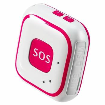 GPS/SMS трекер с тревожной кнопкой на руку «TrakFon TP-28 Red»