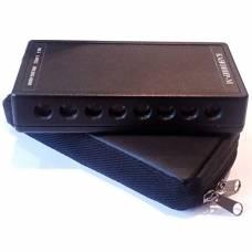 Камуфлированный ультразвуковой подавитель диктофонов «Канонир-8М» с пультом ДУ, в сумочке