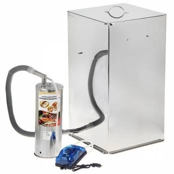 Домашняя коптильня УЗБИ Дым Дымыч 02Б для холодного копчения