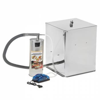 Домашняя коптильня УЗБИ Дым Дымыч 02М для холодного копчения