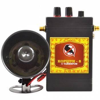 Звуковой отпугиватель птиц «Коршун-8 с одним динамиком»