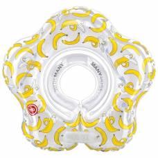 Круг для плавания Happy Baby SWIMMER Banana (0-12 мес)