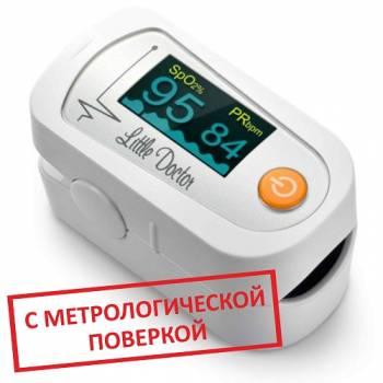Пульсоксиметр Little Doctor MD300C23 с поверкой