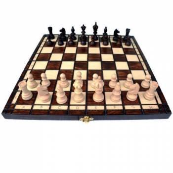 Шахматы деревянные Олимпик темные