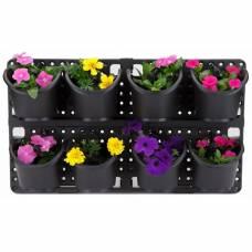 """Вертикальная панель для растений с системой капельного полива """"Ботанический сад"""""""